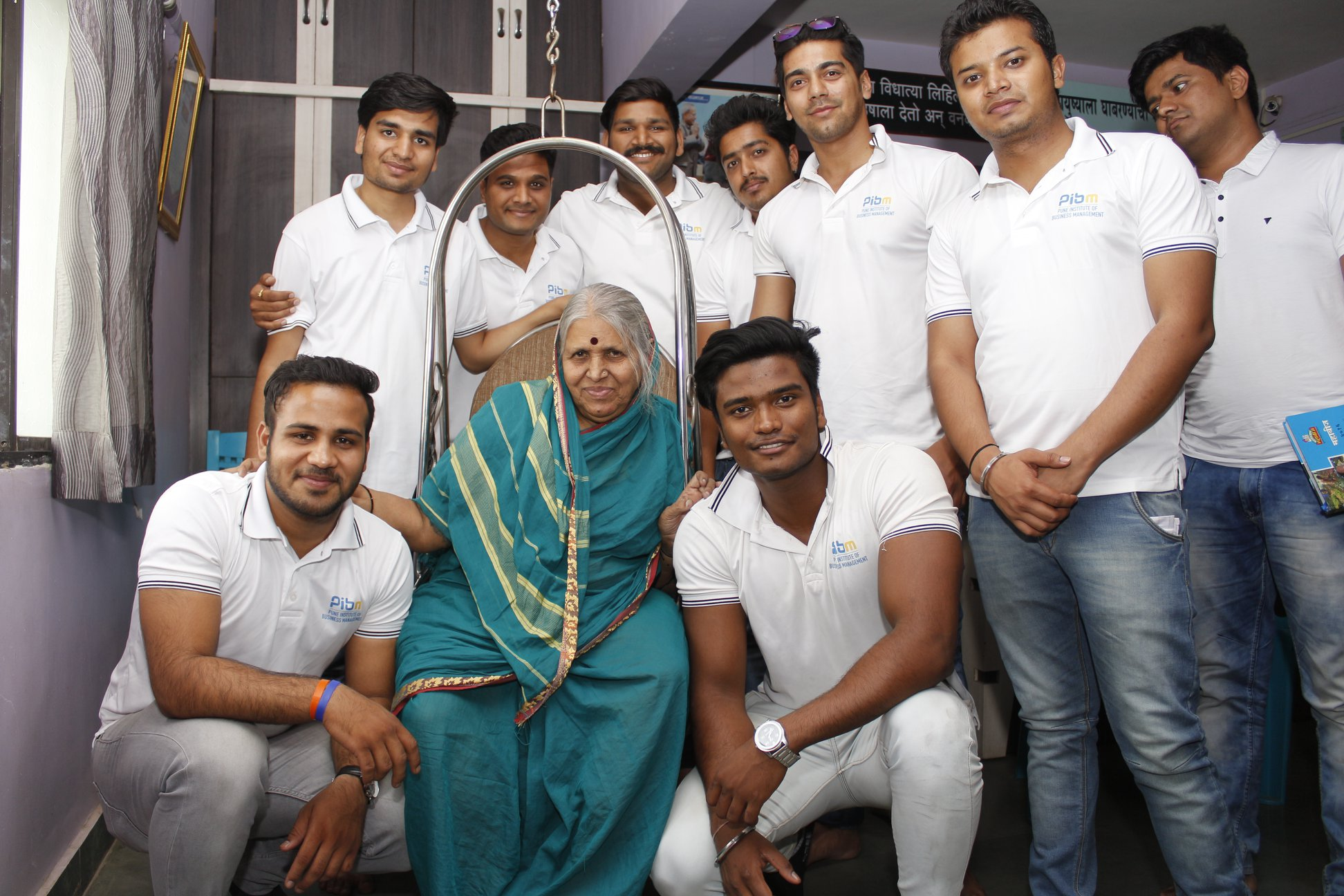 A Day Spent with Sindhutai Sapkal – Mai:  The Mother of Orphans