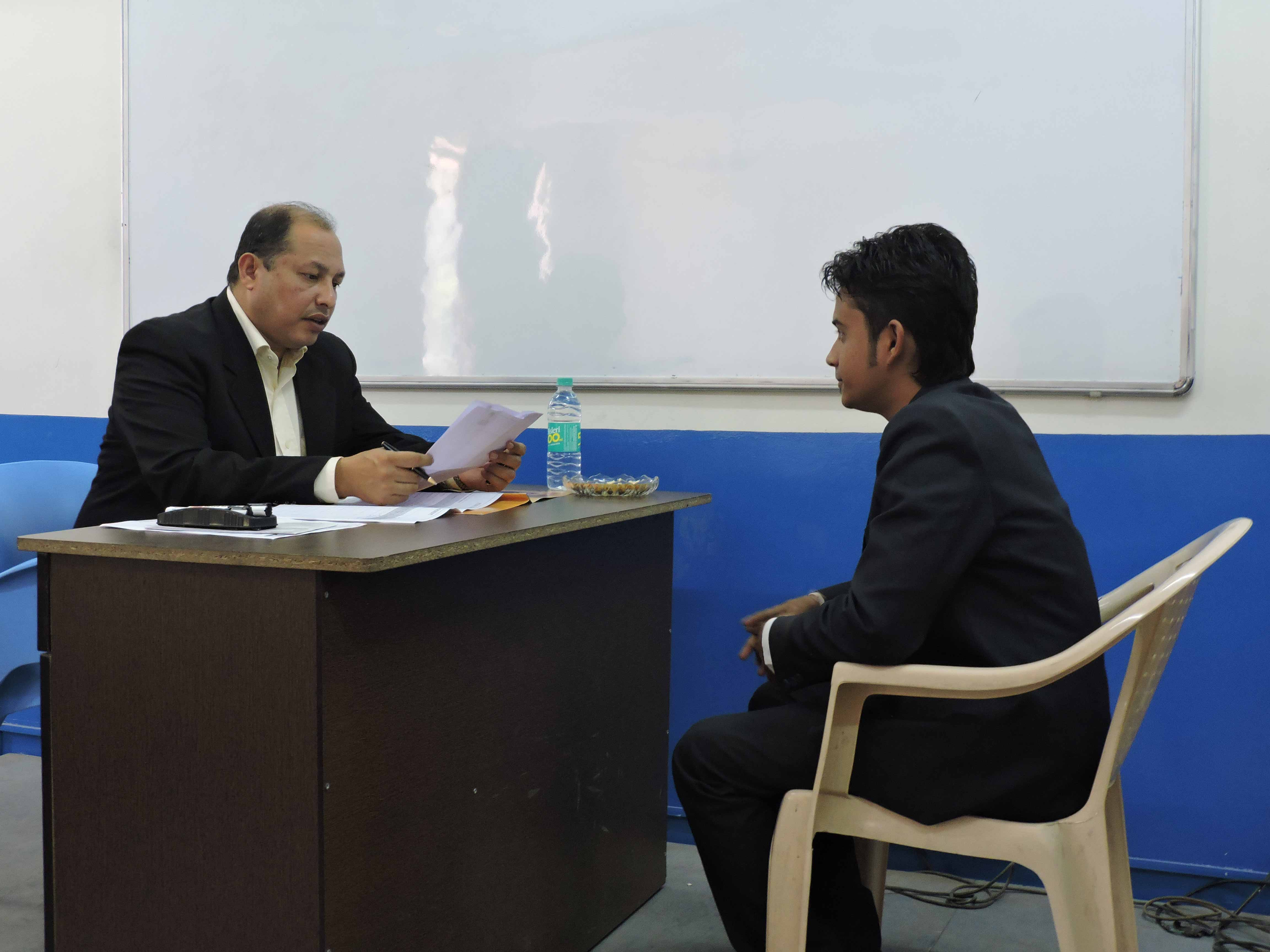 Mock Personal Interview by Mr. Abhijit Chandorkar_Confidence Building_PIBM Pune