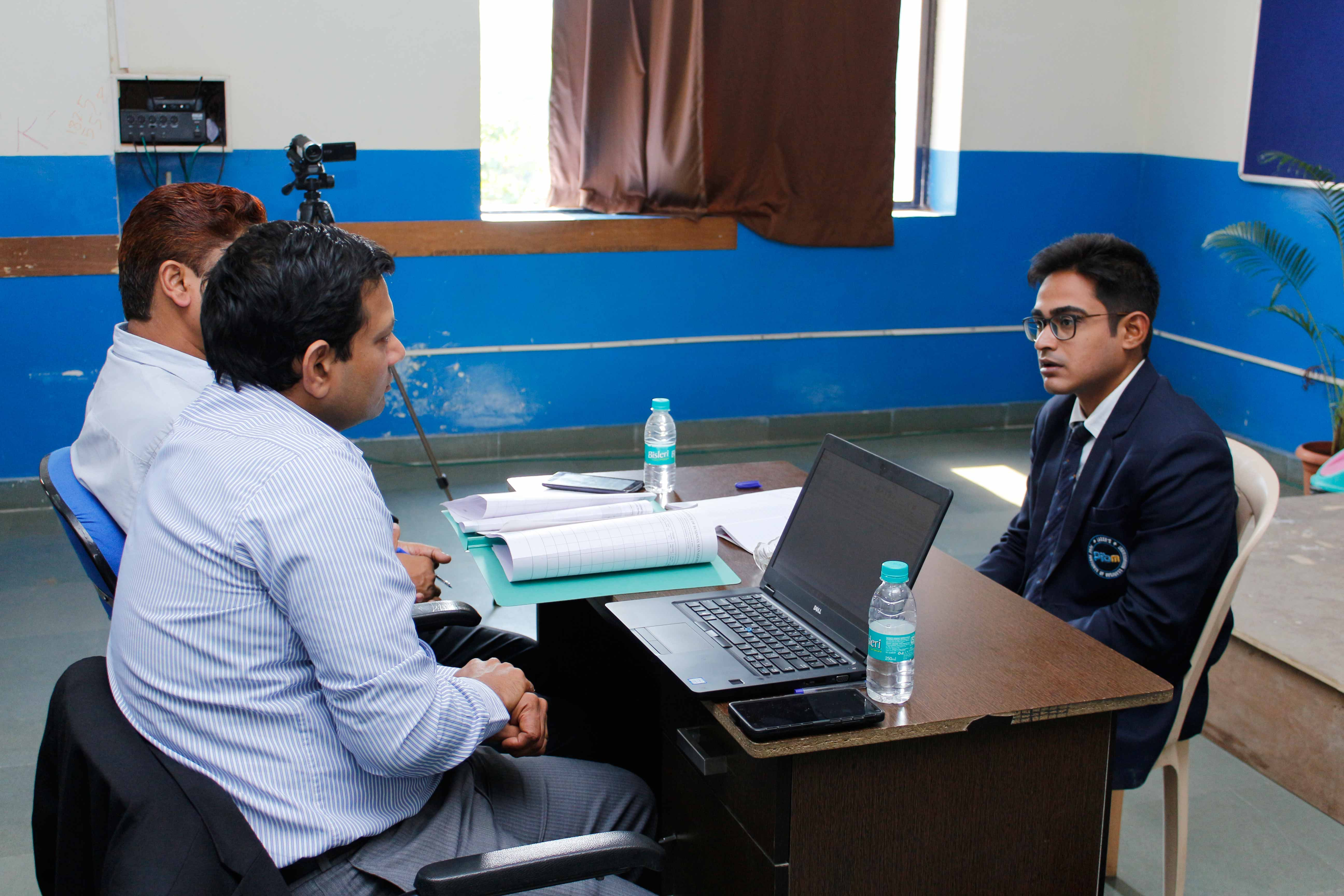 Mock Personal Interview by Mr. Alfred Mendes_Confidence Building_PIBM Pune
