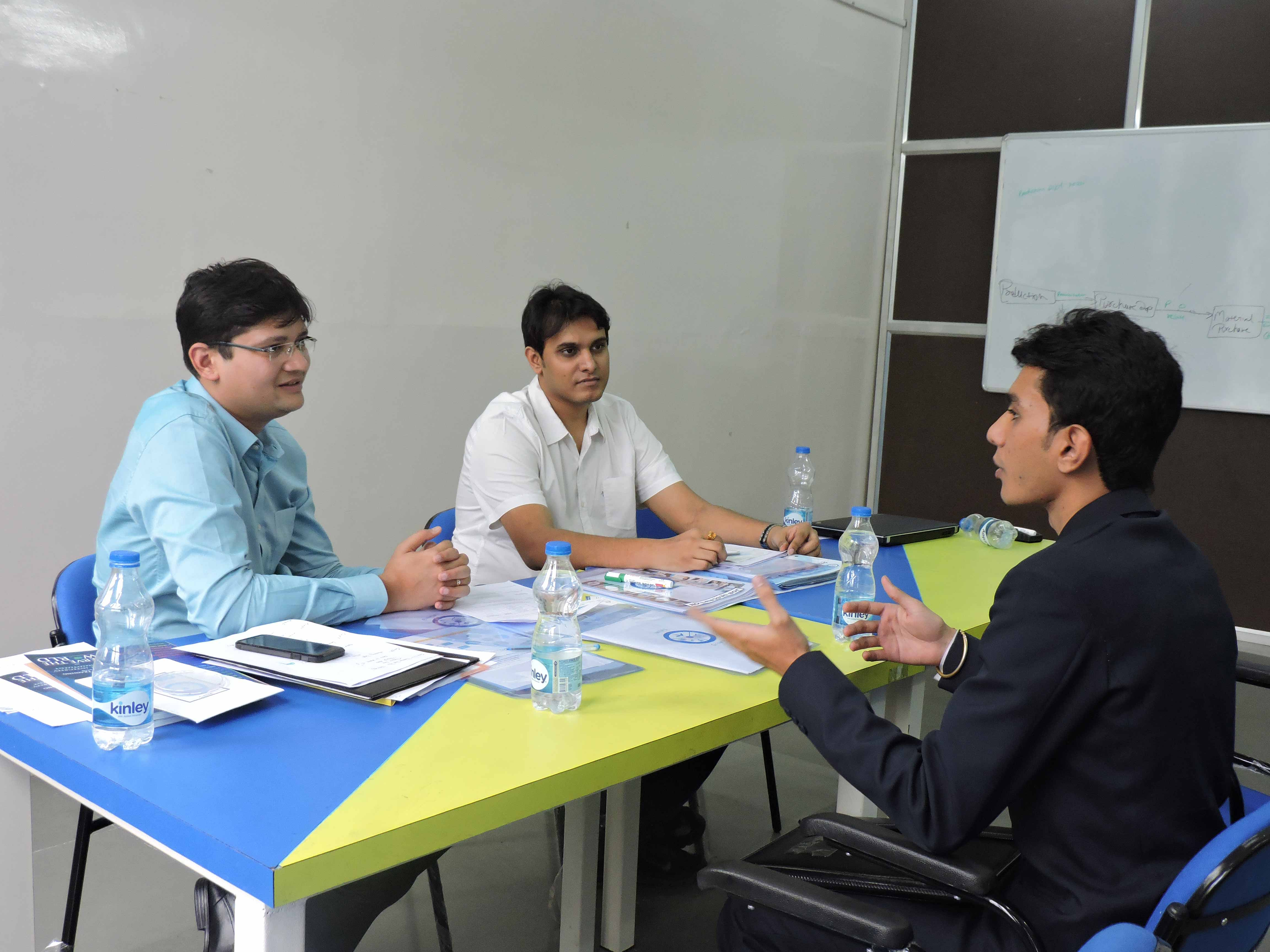 Mock Personal Interview by Mr. Karan Kabra_Confidence Building_PIBM Pune