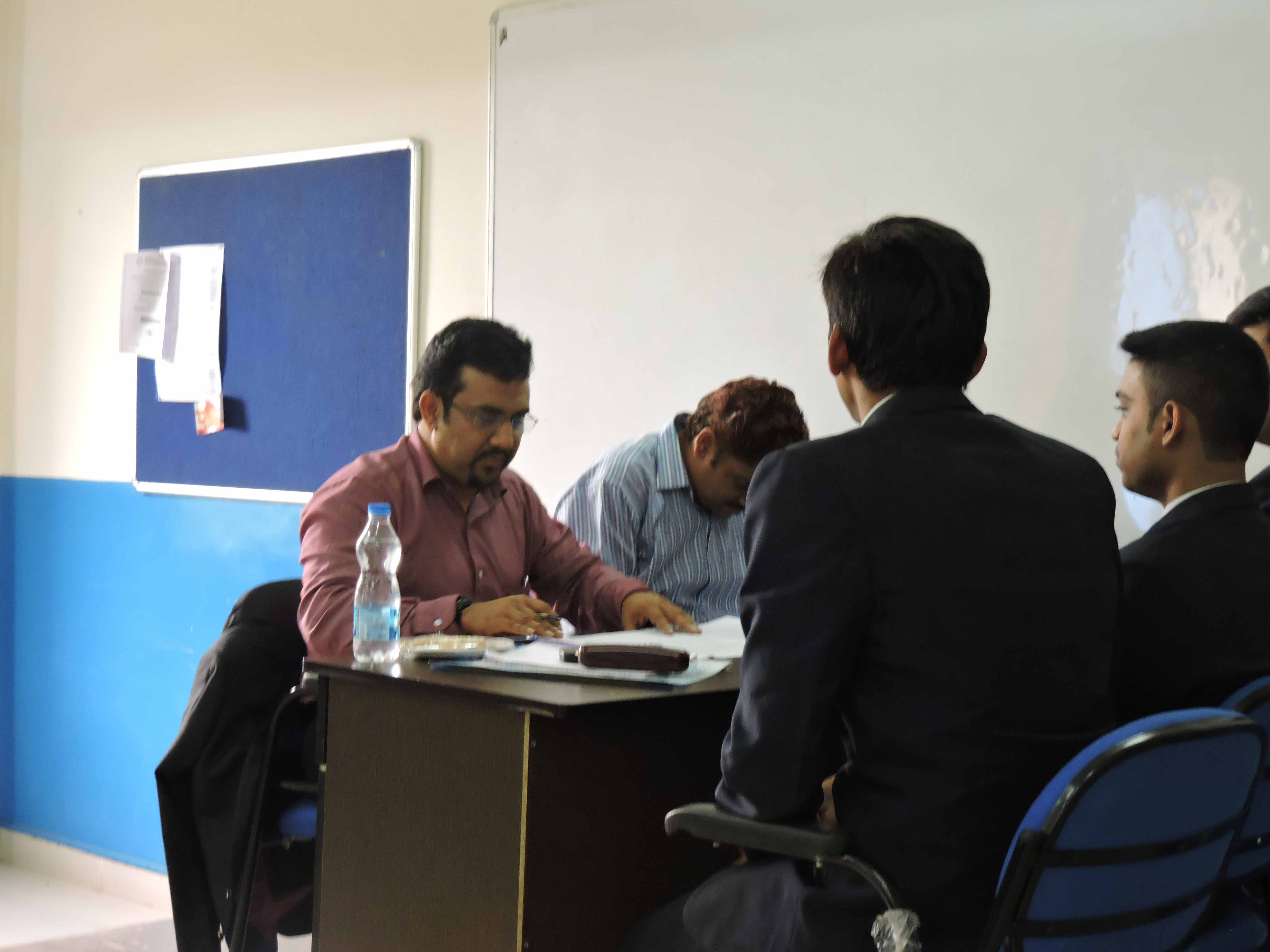 Mock Personal Interview by Mr. Nishad A K_Confidence Building_PIBM Pune