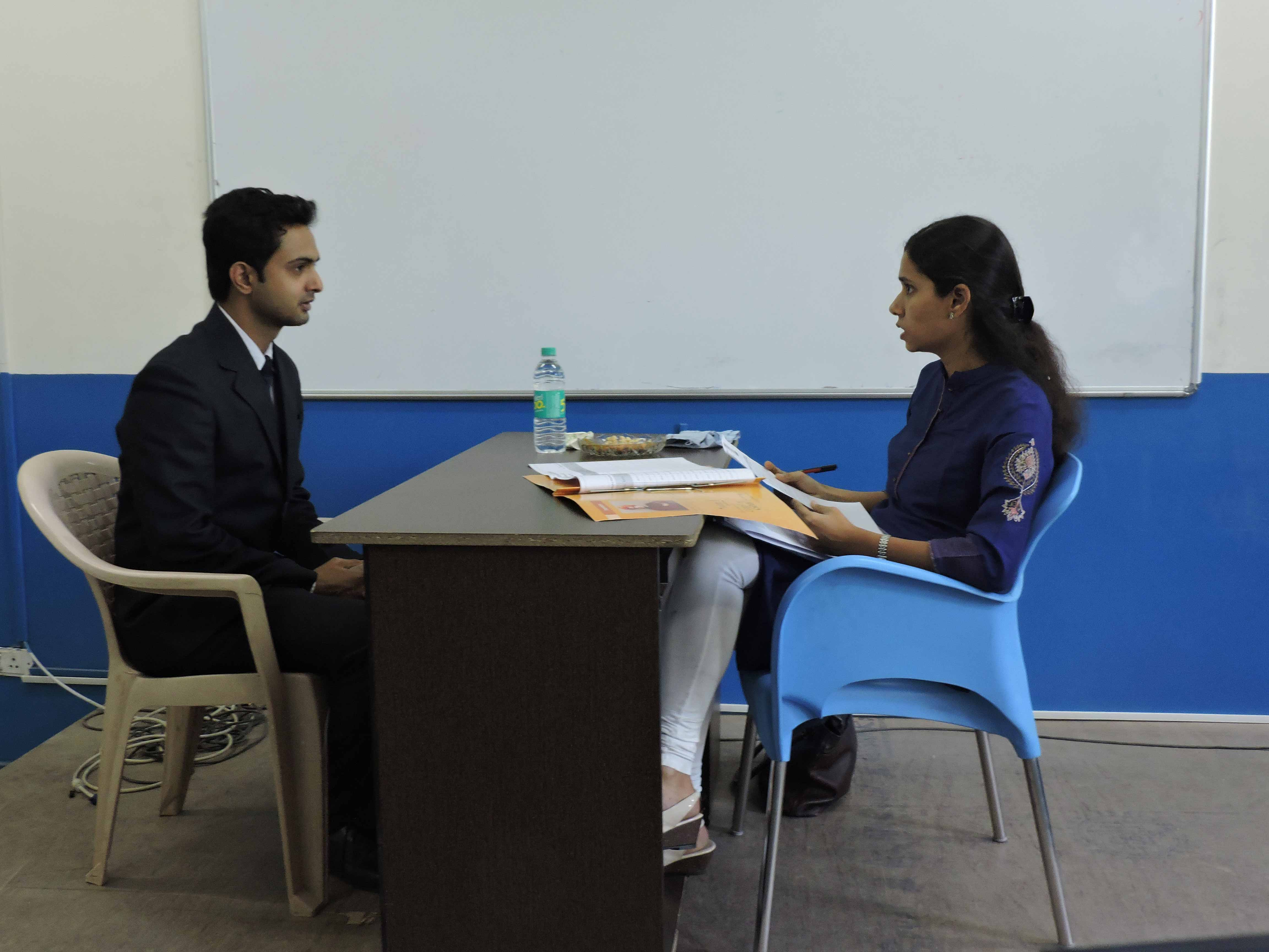 Mock Personal Interview by Ms. Preeti Duggaraju_Confidence Building_PIBM Pune