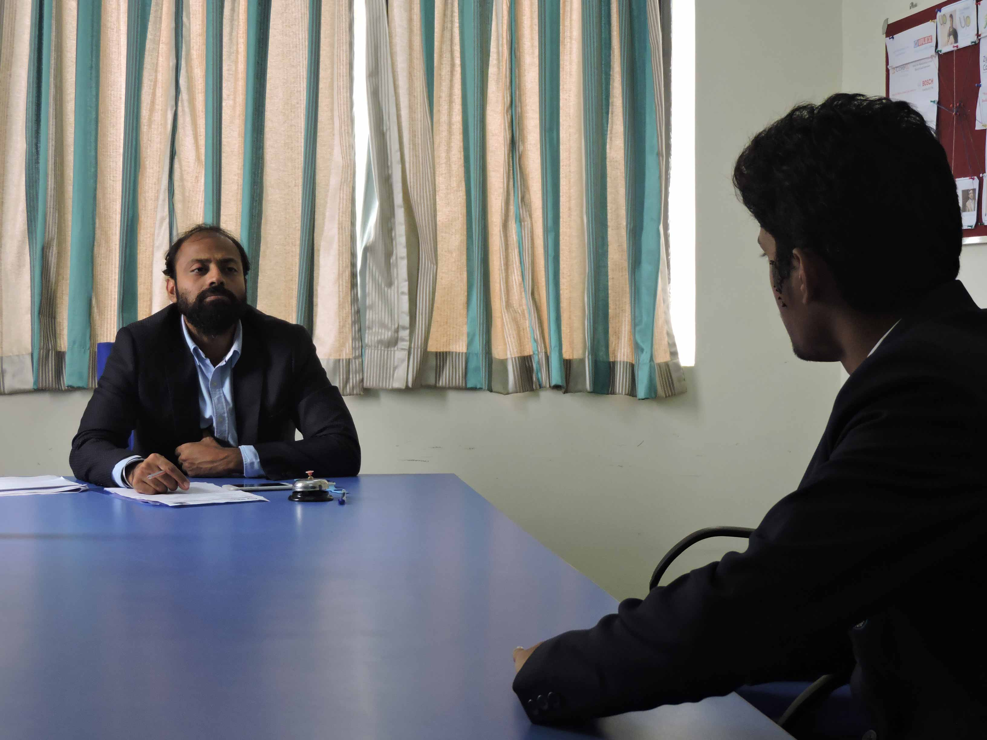 Mock Personal Interview by Mr. Raman Preet_Confidence Building_PIBM Pune