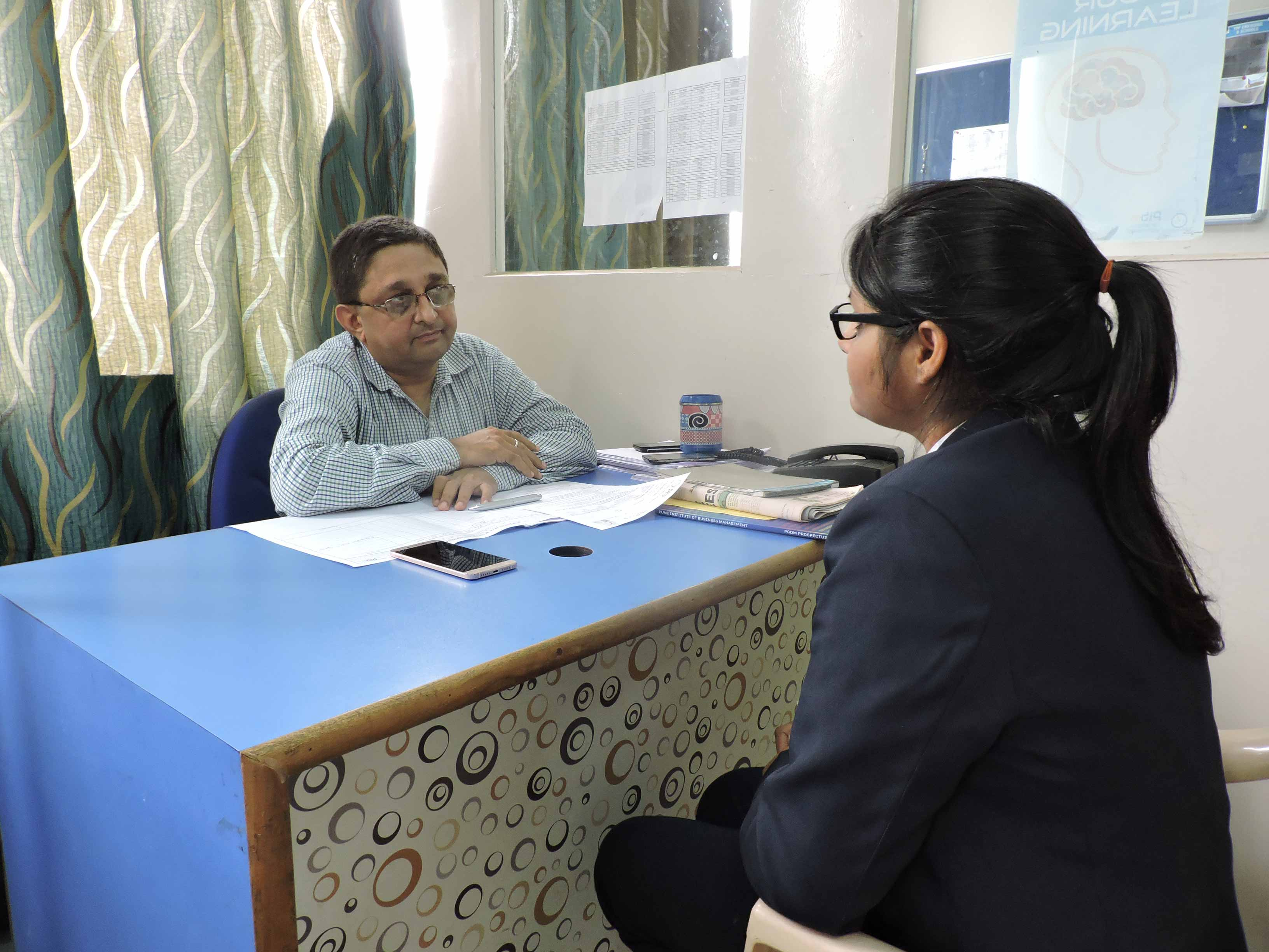 Mock Personal Interview by Mr. Bharat Dalal_Confidence Building_PIBM Pune
