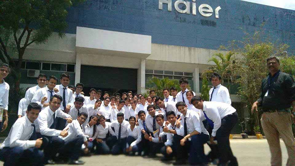 Industry visit to Haier Appliances_Industry Visit_PIBM Pune