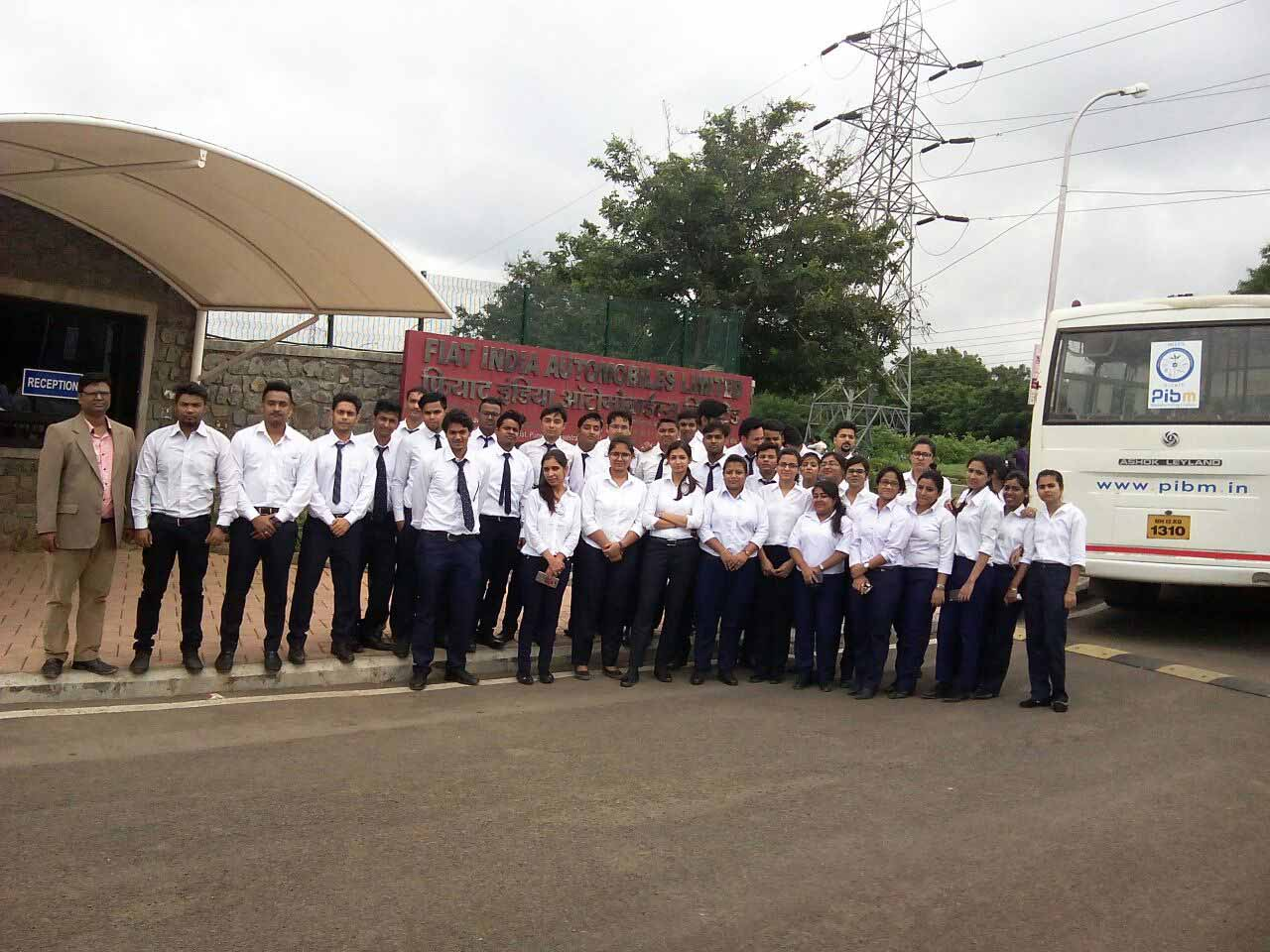 Industry visit to Fiat_Industry Visit_PIBM Pune