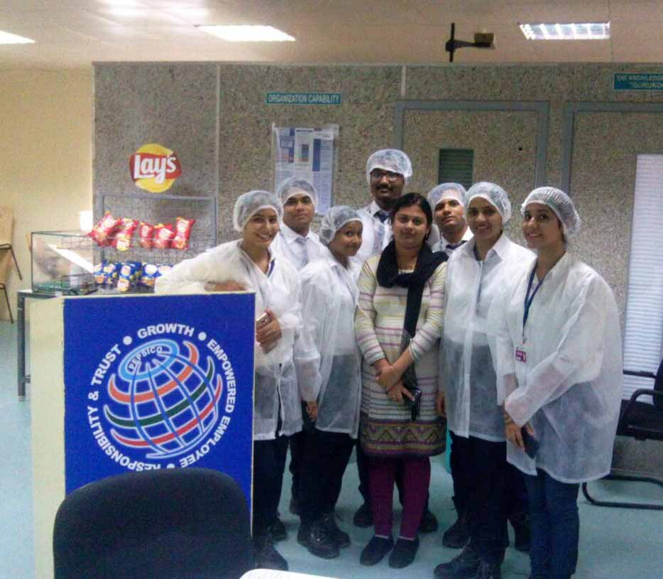 Industry visit to Frito - Lays_Industry Visit_PIBM Pune