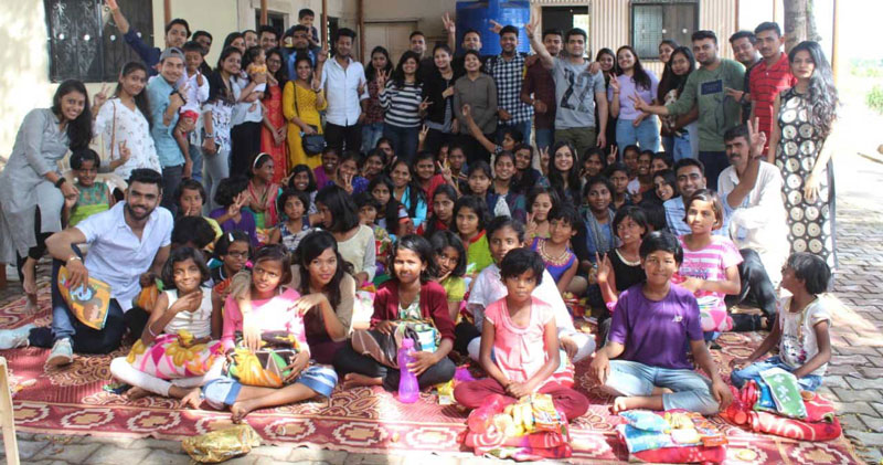 PIBM students conducted a CSR activity for the children of Mamta Bal Sadan, on 29th Sept 2019